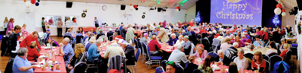 Christmas Day at Melksham Assembly Hall
